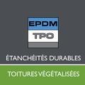 logo epdm-tpo étanchéité durable et toitures végétalisées