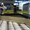maquette du système de toiture chaude EPDM-TPO au salon BATIMAT sur le stand euromac2