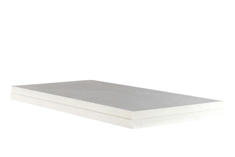 isolant PIR EPDM surfacé voile de verre feuilluré épaisseur 80 mm R = 3,05