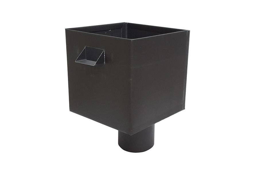 boîte à eau Zinc pré-patiné noir