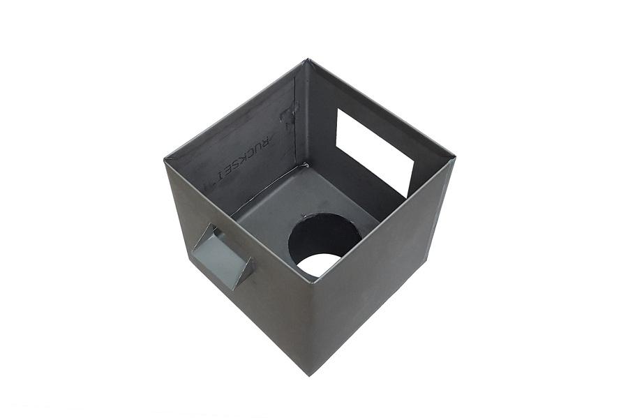 boîte à eau Zinc Quartz vue de dessus