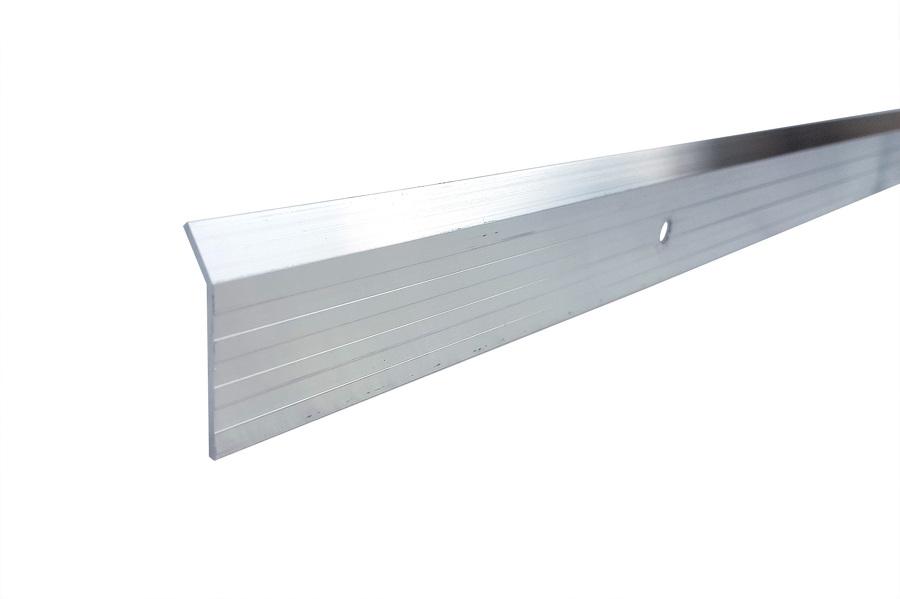 Latte de fixation aluminium Brut 40 mm, longueur 3 m.