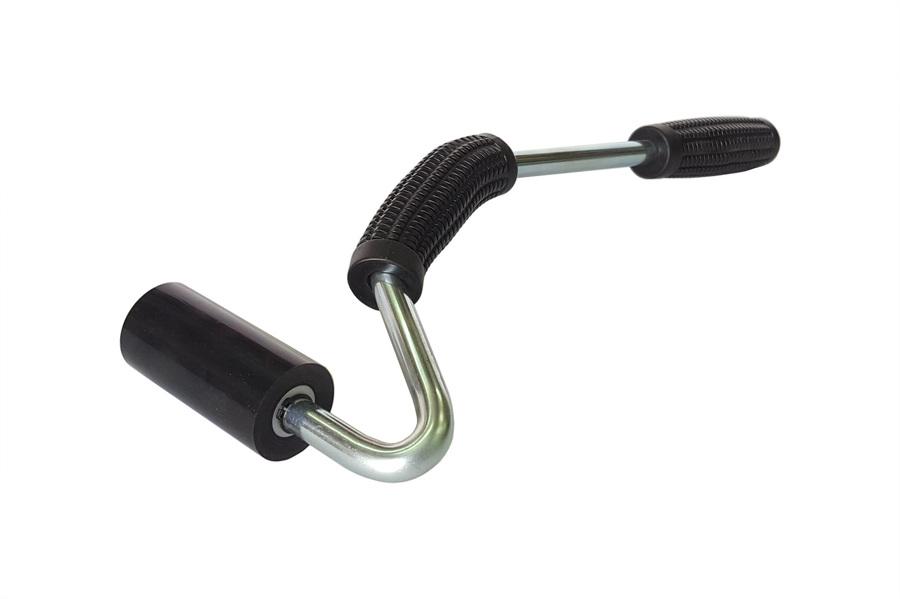 roulette à maroufler manche de 30 cm, roulette de 7 cm de large