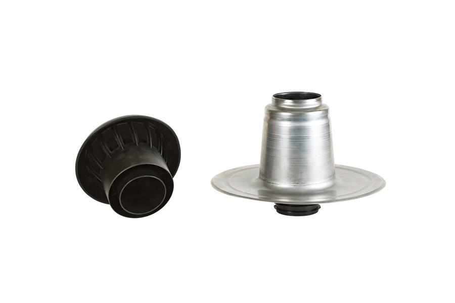 Ventilation isolée 90-100 mm chapeau démonté