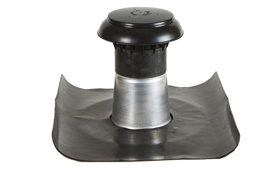 Ventilation isolée 90-100 mm avec la pièce adhésive